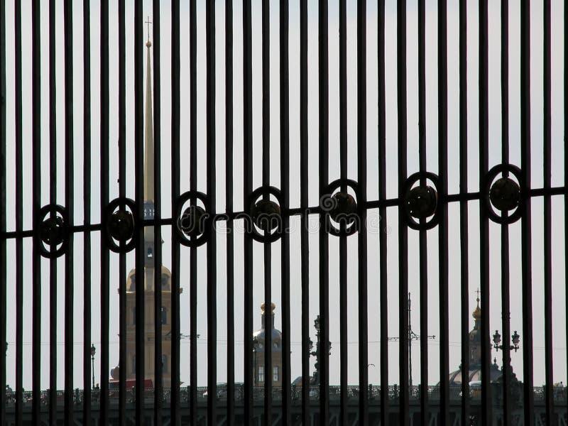 ST PETERSBURG - RUSIA - OCTUBRE DE 2003: imagen de archivo libre de regalías