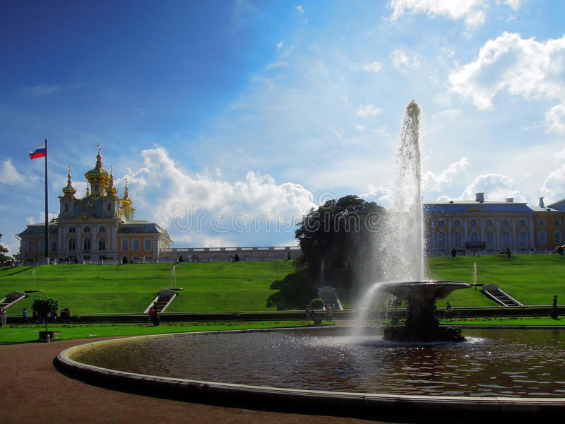 St Petersburg, Rusia, Peterhof foto de archivo