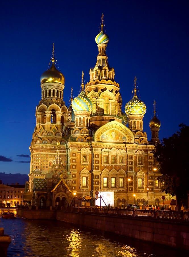St. Petersburg, Rusland stock foto