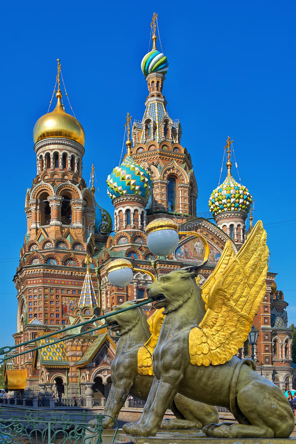 St Petersburg, Rusland royalty-vrije stock foto's
