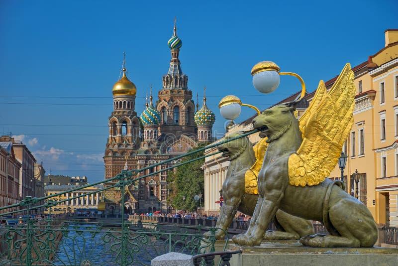 St Petersburg, Rusland stock foto's