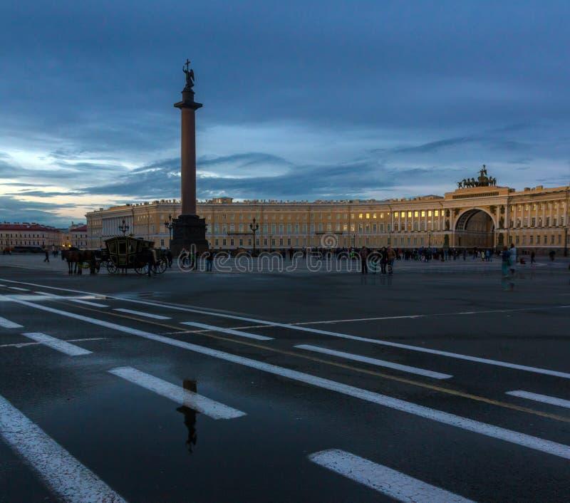 St Petersburg, Rusland stock afbeelding