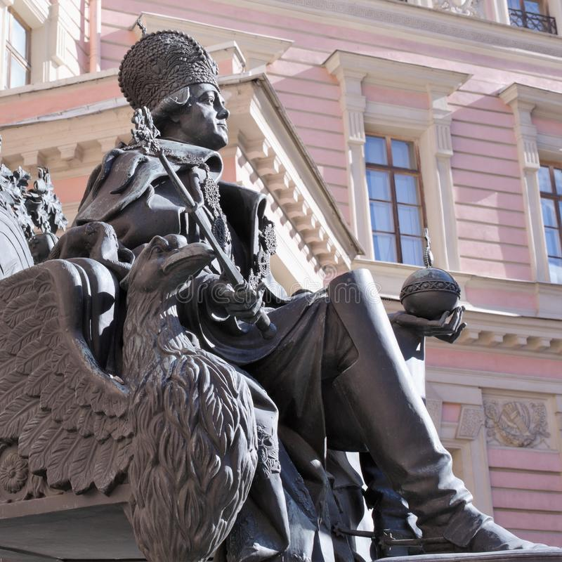 St. Petersburg, Rusland, April 2019 E stock fotografie