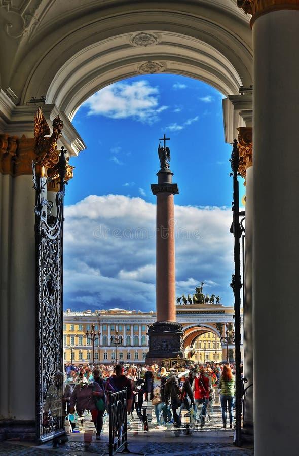 St. Petersburg, Rusland - 14 AUGUSTUS 2016 stock foto