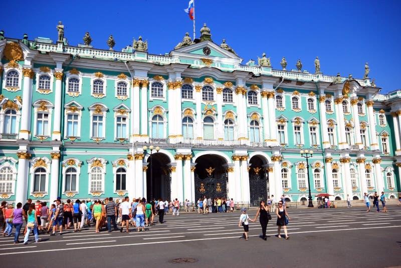 St. Petersburg, Rusland, Juli 2012 Kluismuseum stock foto