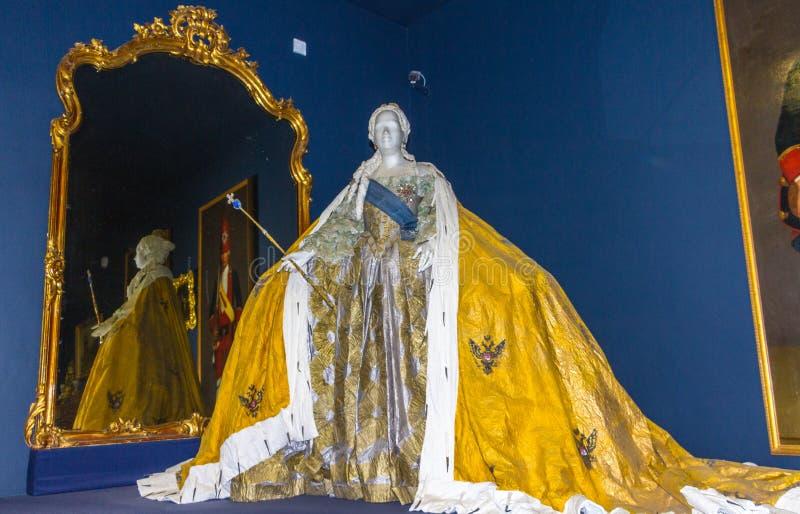St. Petersburg Rusland van Tsarskoe Selo van het Catherine'spaleis stock foto's