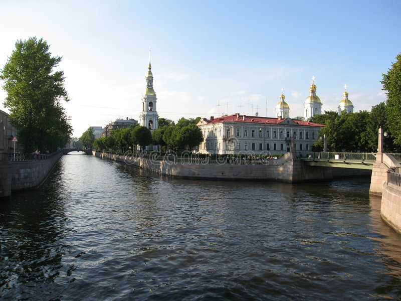 Download St Petersburg, Russia immagine stock. Immagine di costruzione - 7300413