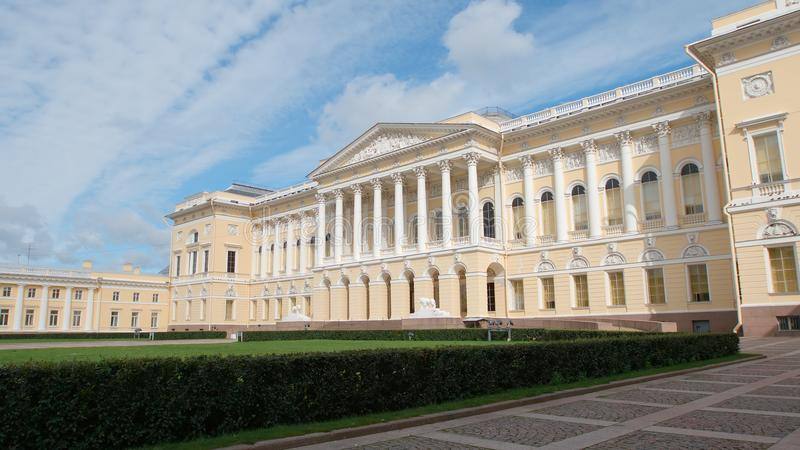 Russian Museum side view royalty free stock images