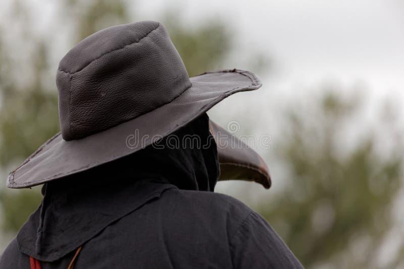 Plague doctor stock photo