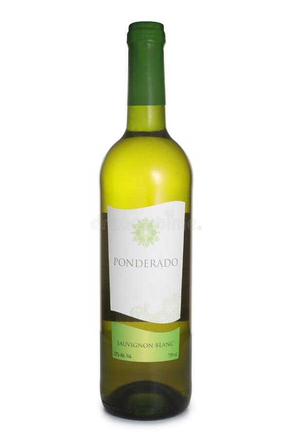 ST. PETERSBURG, RUSSIA - JUNE 18, 2017: Bottle of Ponderado Sauvignon Blanc, Chile royalty free stock photos