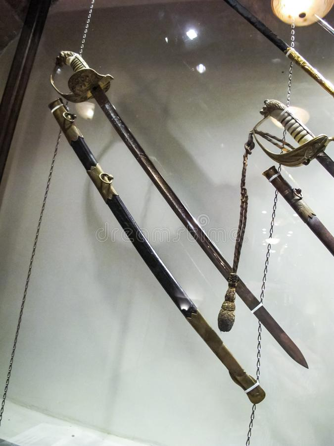 The Museum of Blade Weapons stock image