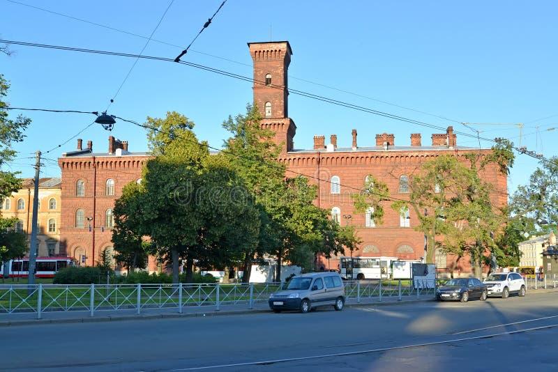 ST petersburg Russia Widok St Petersburg uniwersytecki ministerstwo sprawy wewnętrzne federacja rosyjska obrazy royalty free