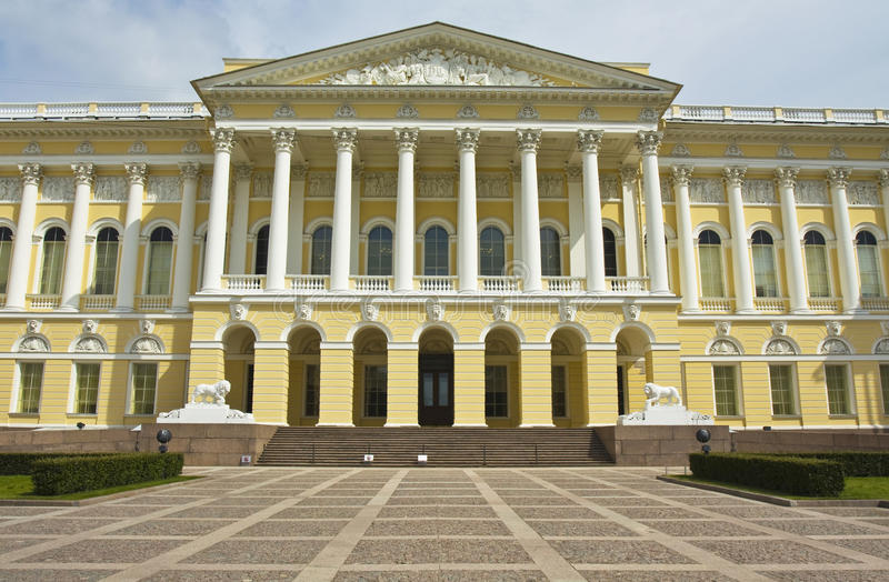 St. Petersburg, Russian museum royalty free stock photography
