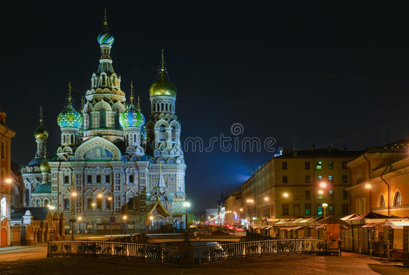 St Petersburg, Russie, église orthodoxe photographie stock