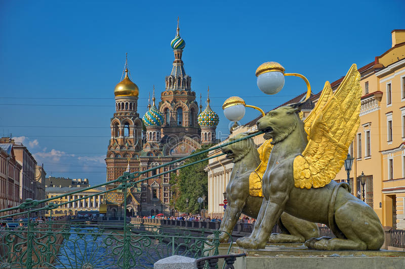 St Petersburg, Russie photos stock