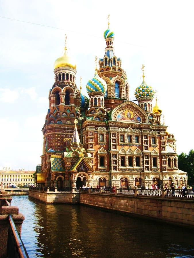 St Petersburg, Russie, cathédrale de Jésus-Christ photo stock