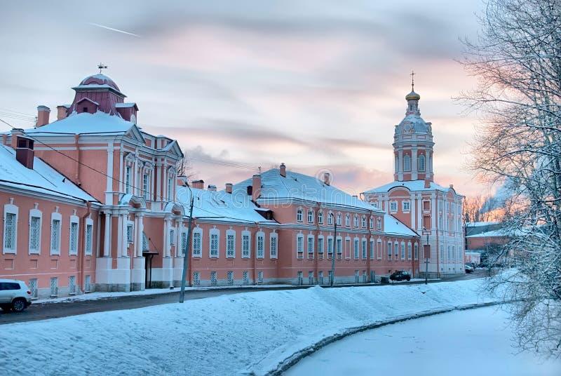 St Petersburg Russie Saint Alexander Nevsky Monastery image libre de droits