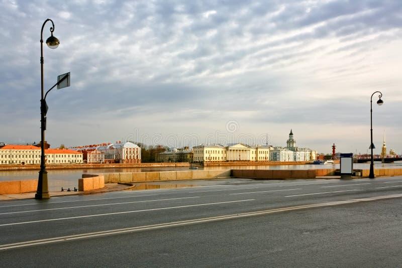 In St Petersburg Russland stockfotografie