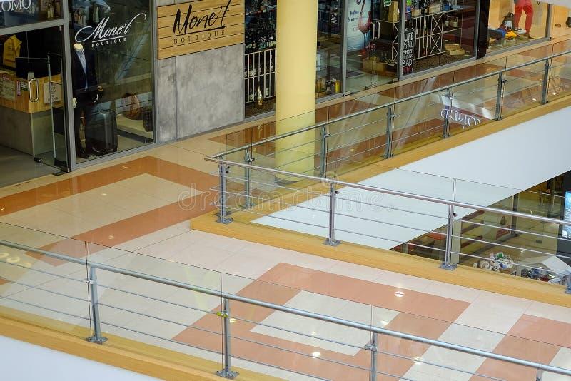 St Petersburg Russland 05252018 Einkaufszentrum stockfotografie