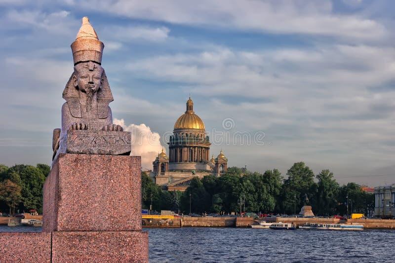 St Petersburg Ryssland. arkivbild