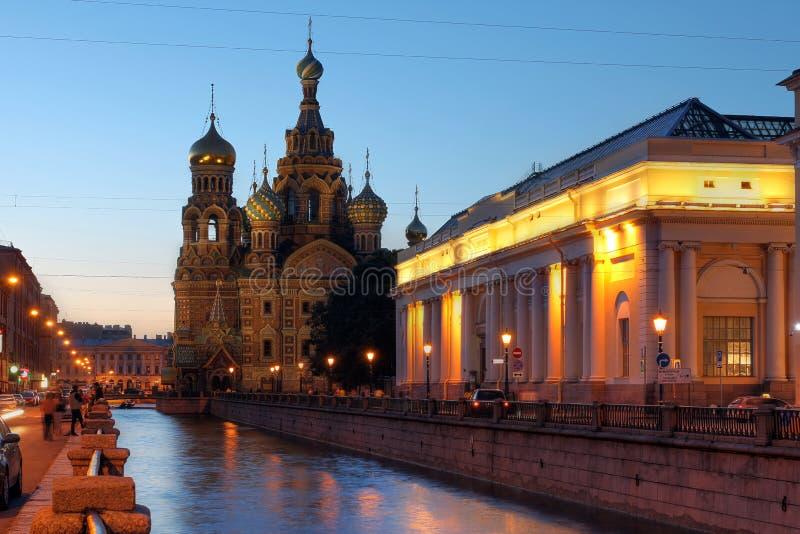 St Petersburg Ryssland royaltyfri fotografi
