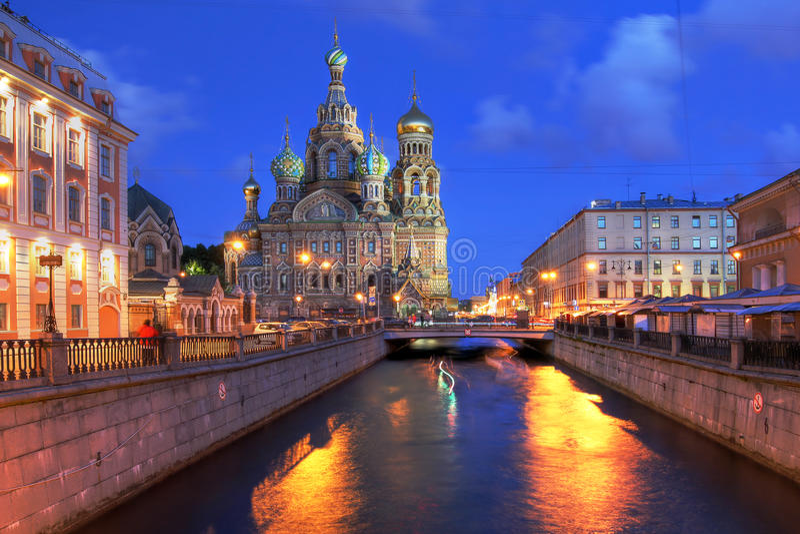 St Petersburg Ryssland arkivfoto
