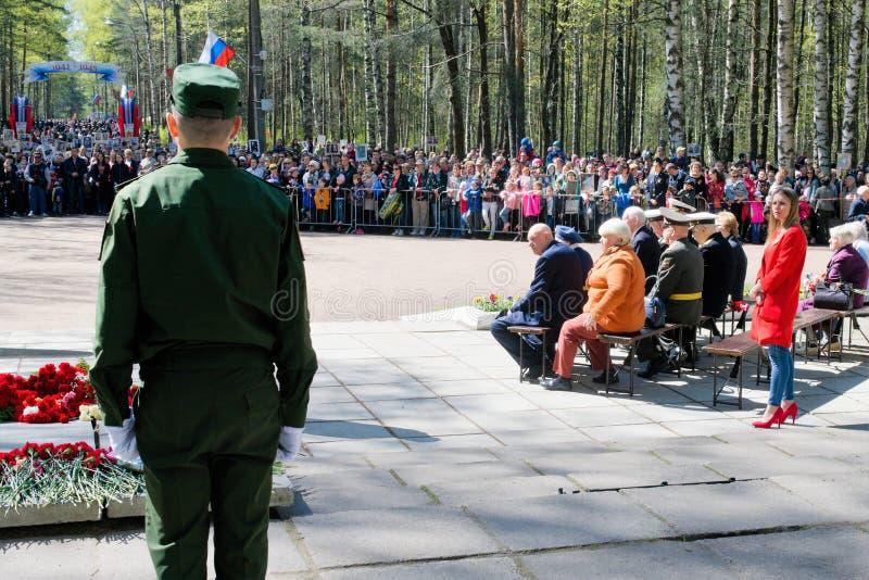 St Petersburg Ryssland, Maj 2019 E arkivfoto