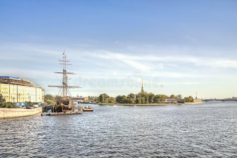 St Petersburg. Stadtbild lizenzfreies stockbild