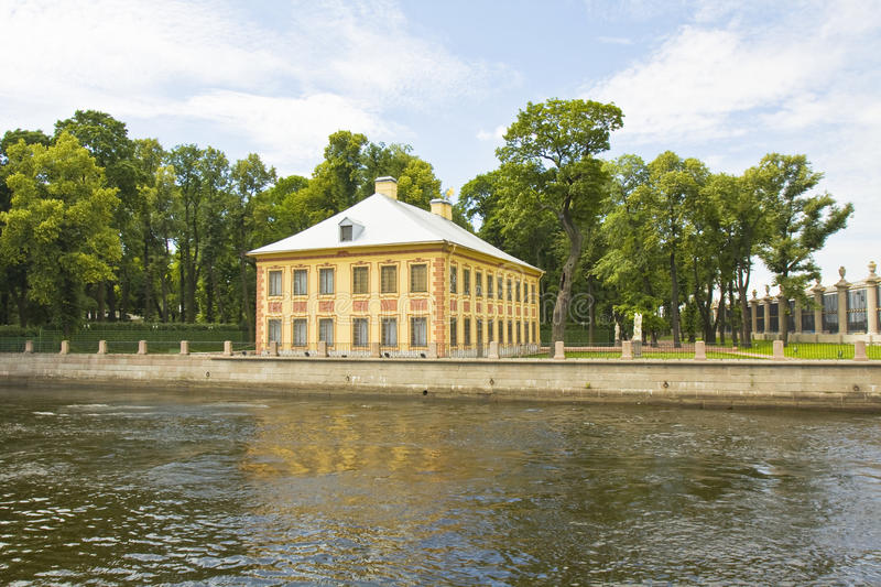 St. Petersburg, Summer palace royalty free stock images