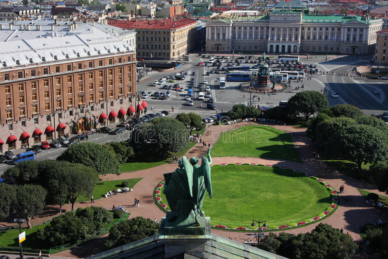 St Petersburg From The Top Stock Photos