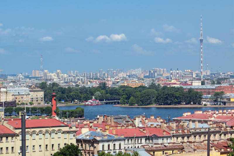 Download St. Petersburg, Top View Royalty Free Stock Photos - Image: 23843618