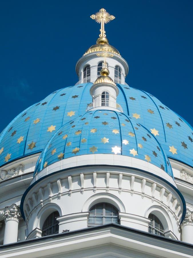 St Petersburg Treenighetdomkyrka royaltyfri foto