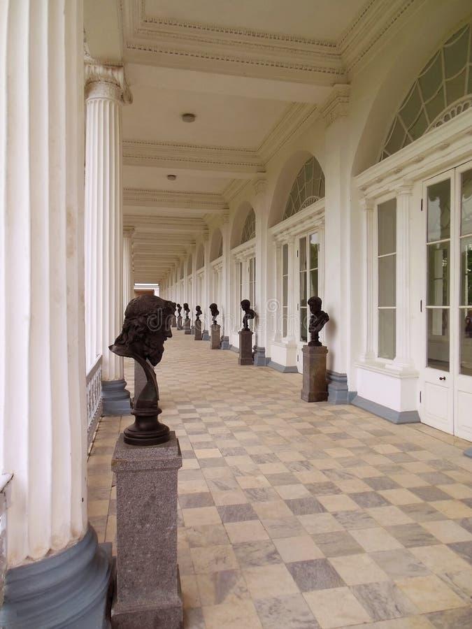 St Petersburg, Tsarskoye Selo, Catherine Palace grande imágenes de archivo libres de regalías
