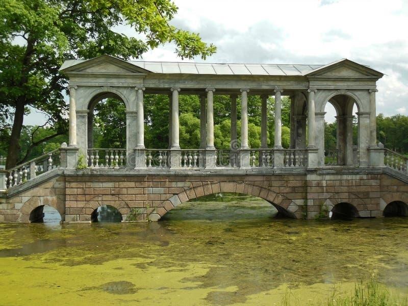 St Petersburg, Tsarskoye Selo, Catherine Park fotografía de archivo