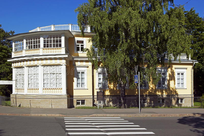 St Petersburg Tsarskoye Selo Pushkin, Ryssland arkivfoton