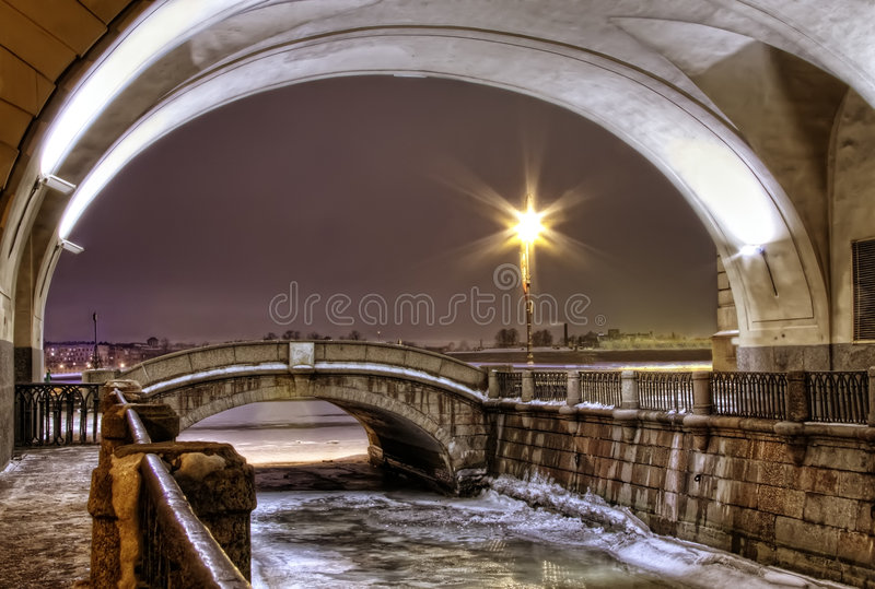 Download St. Petersburg, Winter Canal Stock Photos - Image: 7894933