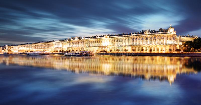 St. Petersburg - Winter Palace, Hermitage in Russia stock images