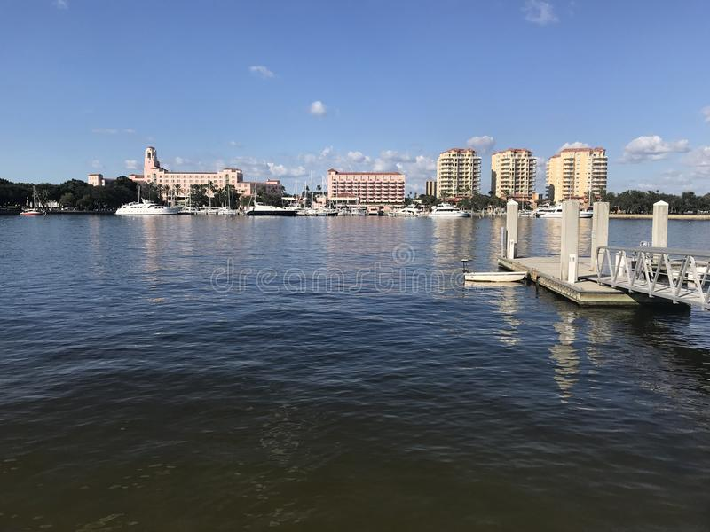 St. Petersburge Fl. royalty free stock photography
