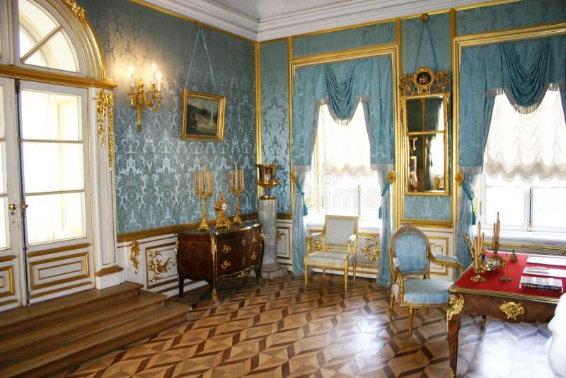 St. - Petersburgo, Peterhof foto de archivo