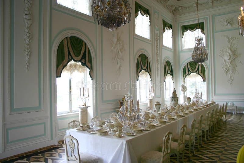 St. - Petersburgo, Peterhof fotos de archivo