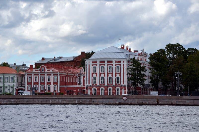 St- Petersburgstaatliche universität stockbilder