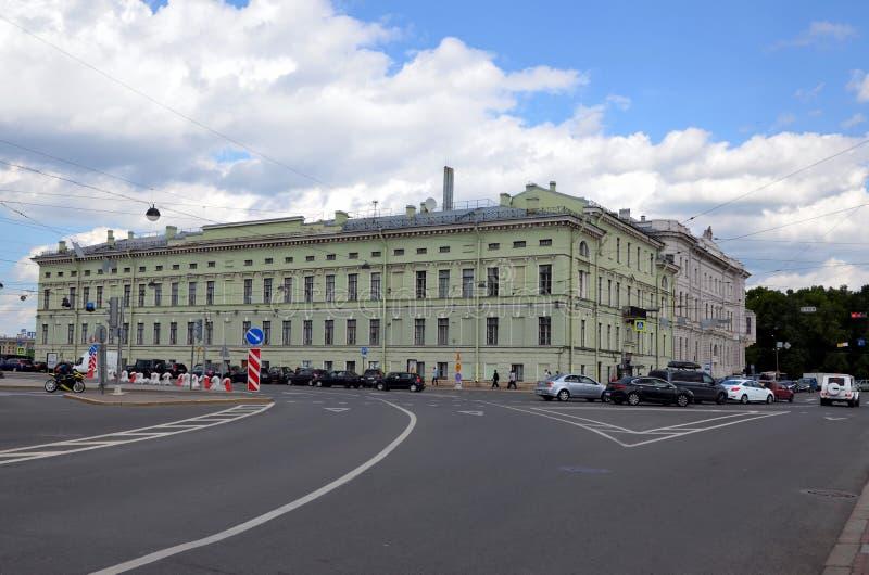 St- Petersburgstaats-Institut der Kultur lizenzfreie stockbilder