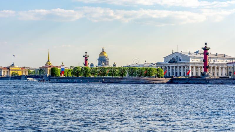 St- Petersburgstadtbild, Russland stockfotos