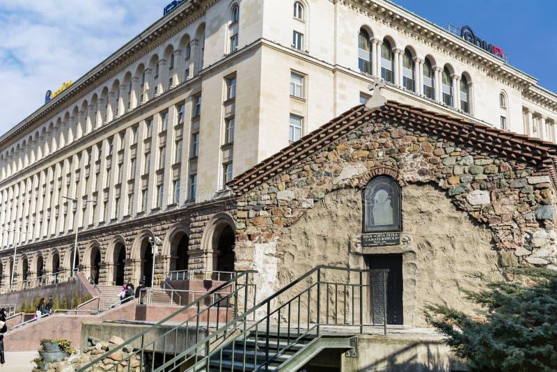 St Petka Samardzhiyska† Kościelnego †'Sofia miasto fotografia stock
