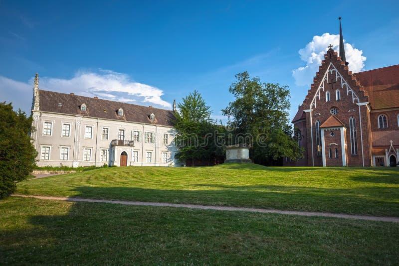 St Petri Church in Woerlitz, Dessau, Duitsland stock fotografie