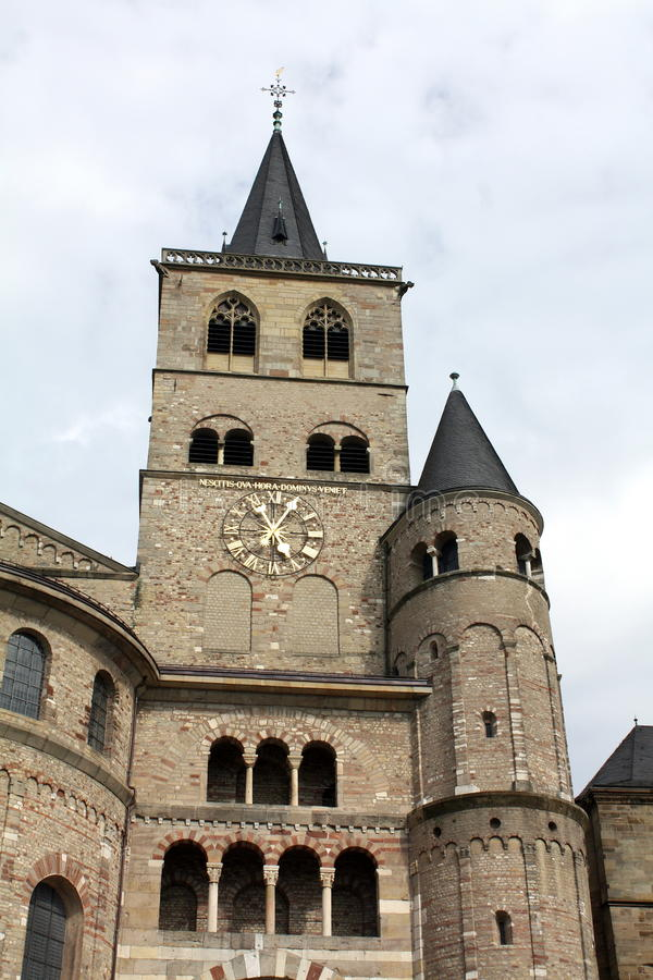 Download St-Petrusdom in Trier stock photo. Image of peace, historic - 19765796