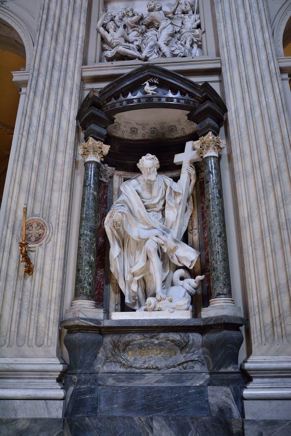 St Philip in San Giovanni in Laterano, in Rom lizenzfreies stockfoto