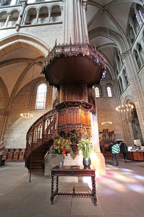 St Pierre Cathedral, Genève, Suisse images libres de droits