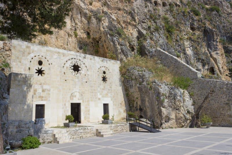 St Pierre Church in Antiochië, Hatay - Turkije stock afbeelding
