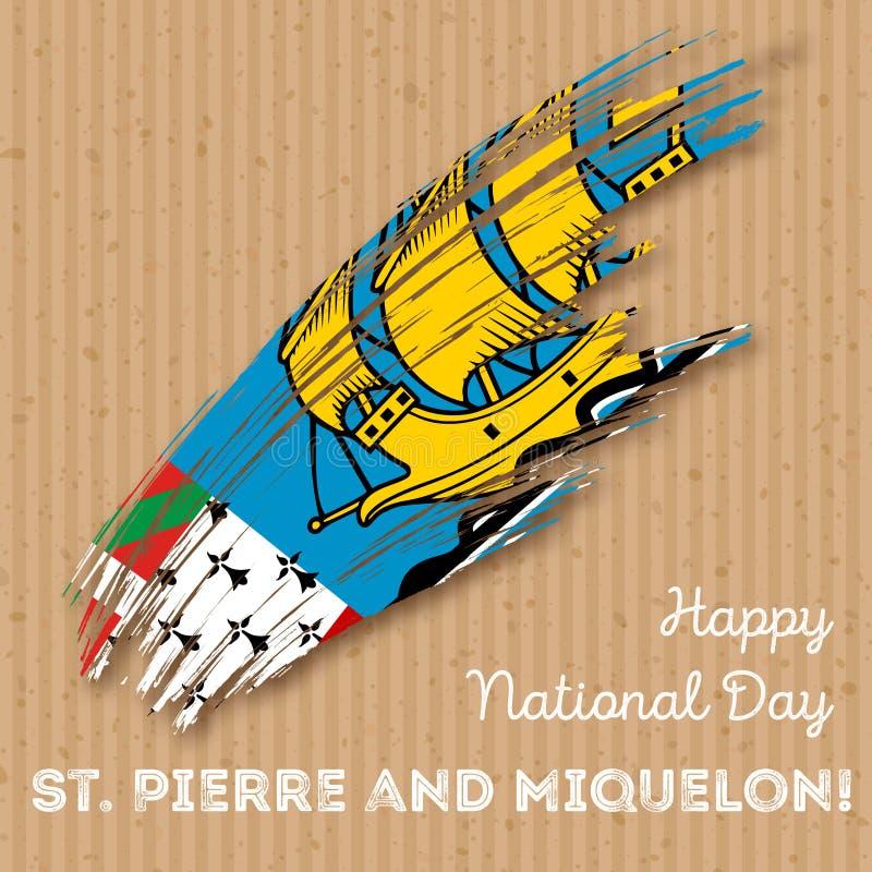St Pierre i Miquelon dzień niepodległości ilustracji